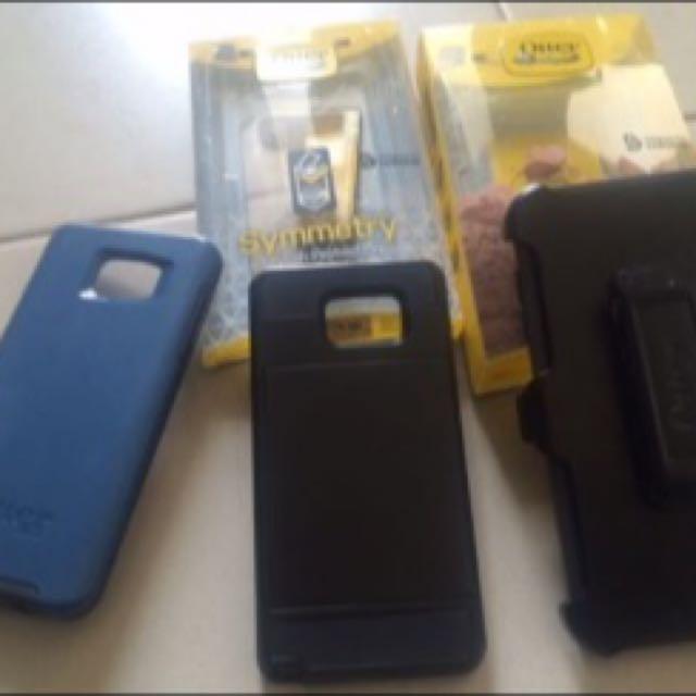 Otter Box Original And Samsung Case