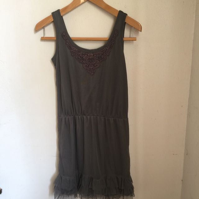 Preloved Gray Dress