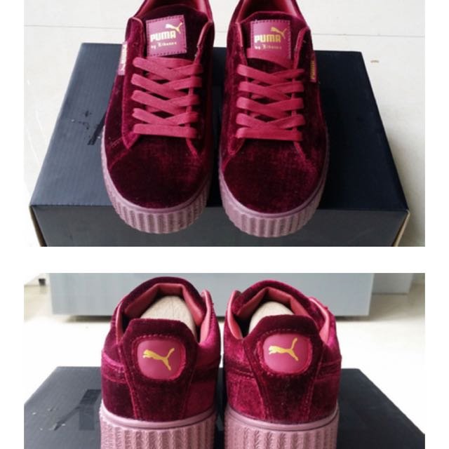 competitive price 8459b 99896 Puma Creeper Red Velvet