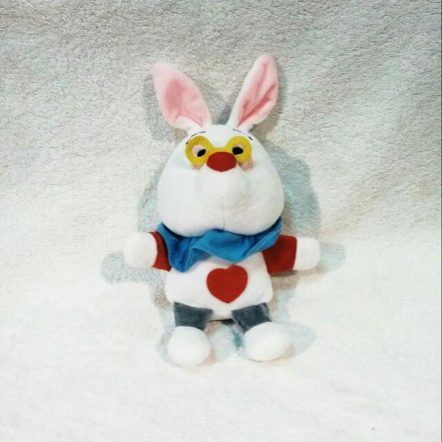 Rabbit from Alice In Wonderland Plush