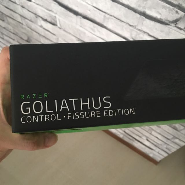 b5948d08581 Razer Goliathus Control Fissure - Extended, Toys & Games, Video Gaming,  Gaming Accessories on Carousell