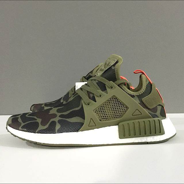 sale retailer bac6b 69b66 SALE] Adidas NMD XR1 Duck Camo Green, Men's Fashion ...