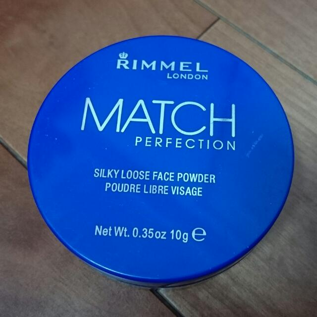Rimmel LONDON Match Perfection Silky Loose Face Powder 完美柔滑蜜粉