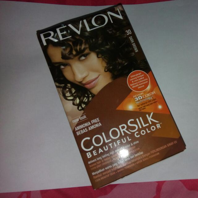 SALE!!! REVLON COLOR SILK BEAUTIFUL COLOR SHADE DARK BROWN.. FREE ONGKIR!!