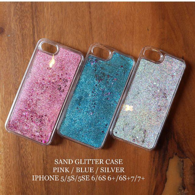 Sand Glitter case untuk iphone 5/5s/5se 6/6s 6+/6s+ 7/7+
