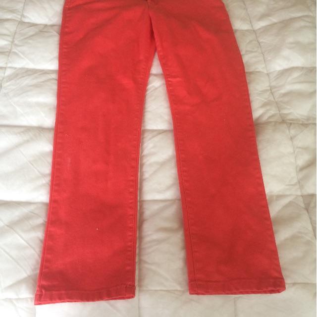 Sara brand nwt,18 Orange Denium plus size jeans