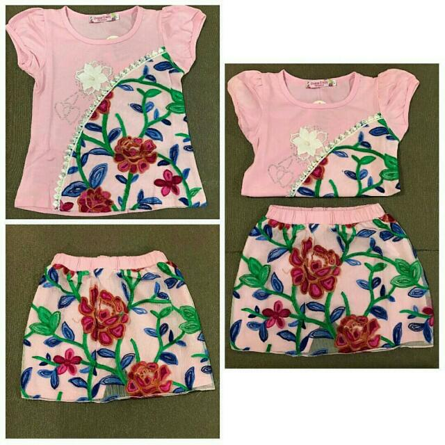 Setelan Dress Anak (NEW)