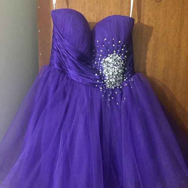 Sherri Hill - Prom Dress (purple)