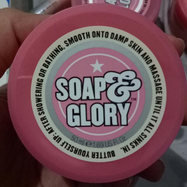 Soap And Glory Body Scrub