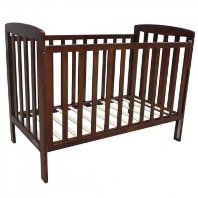 Solid 'Childcare' wooden cot, NO mattress sorry.