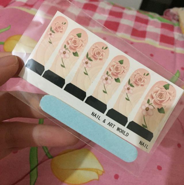 Sticker Kuku Nail Sticker