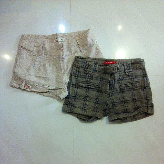 TAKE THEM ALL! 2 Pairs Hot Pants