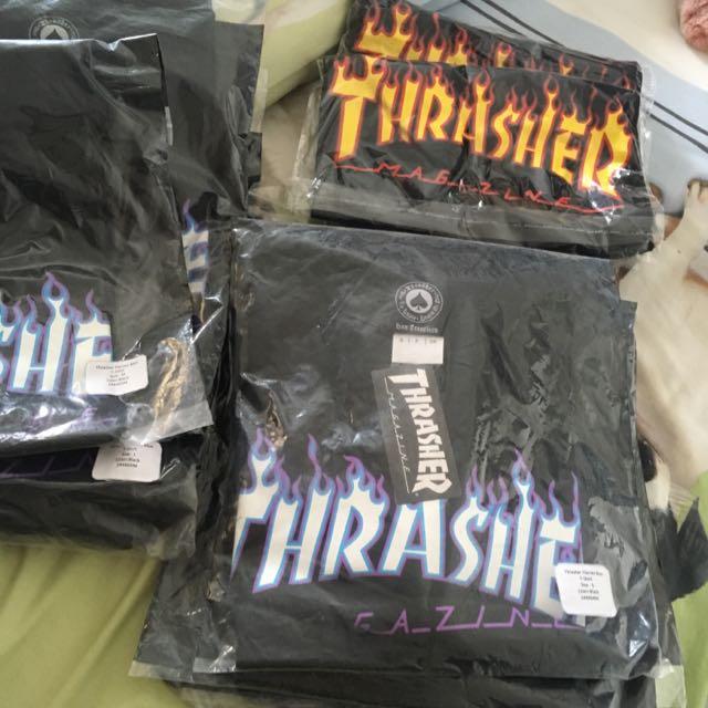thrasher tshirt original 100%