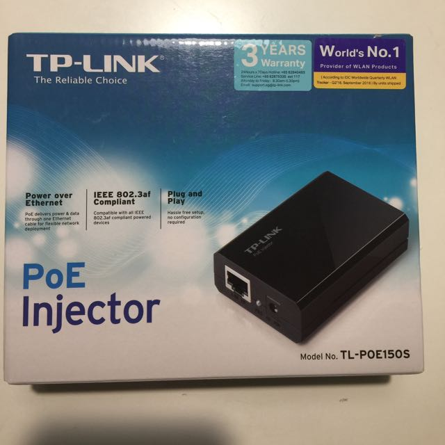 TP link PoE Injector, Electronics, Computer Parts
