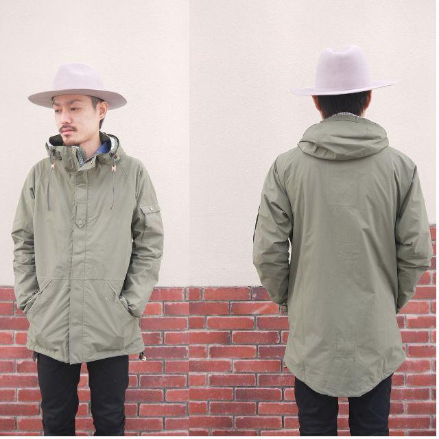 二手正品▸VISVIM NOMAD JKT 2.5L GORE-TEX 綠色 淺綠 軍綠 輕薄 風衣 運動 外套 日本製 男生