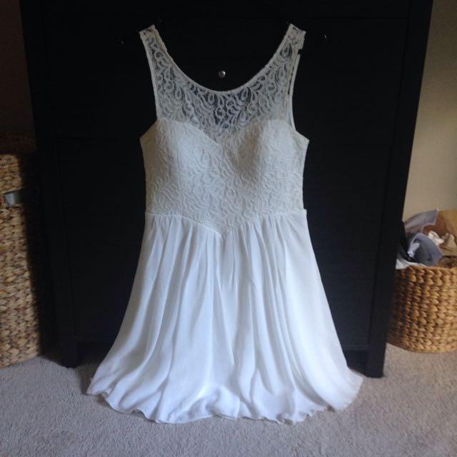 Whit Lace Dress