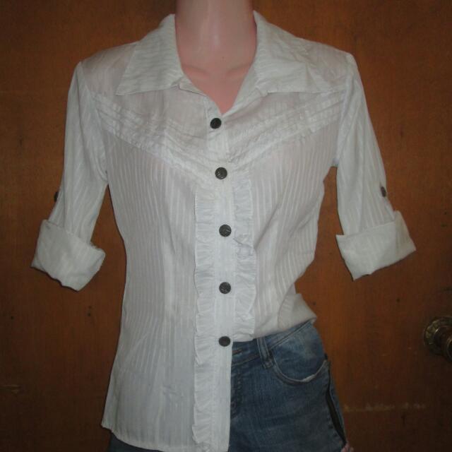 Women's Foldable Long sleeve Blouse