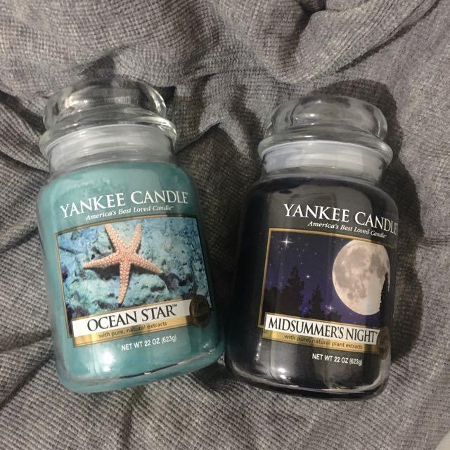 Yankee Candle Midsummer's Night 仲夏夜之夢
