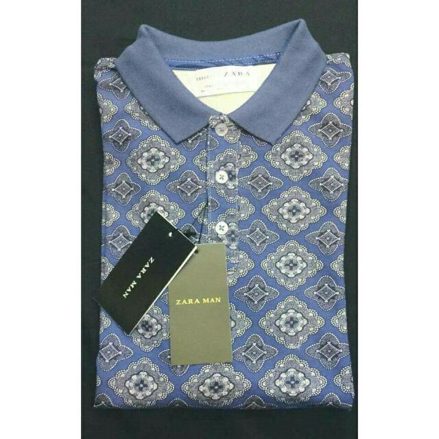 Zara & Cotyon On Men's Polo Shirt