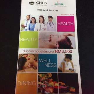 *REDUCED PRICE* Discount Booklet