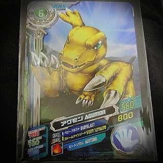 懷舊玩具系列 Digimon數碼暴龍遊戲卡 亞古獸套裝Set