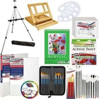 Looking for Art Material – Acrylic paints, Color Pencils, Brushes, Clay & Clay Tool, Vancas, Easel!