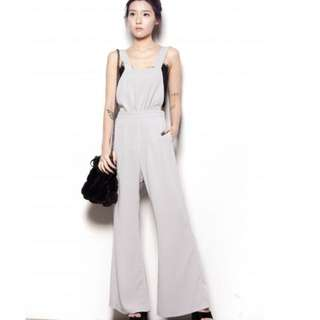 YHF Grey Jumpsuit