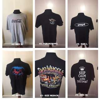 SPRING CLEANING SALE - All T-Shirts $1