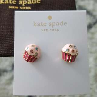 Kate Spade cupcake earrings