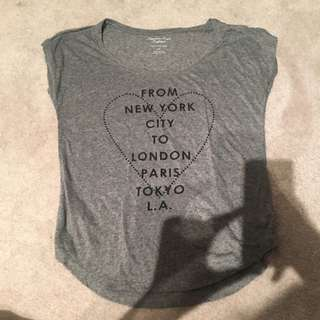 American Eagle cities graphic tee