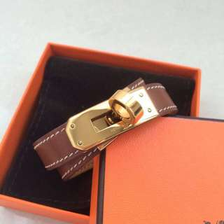 Hermes Kelly Double Tour Bracelet Kdt