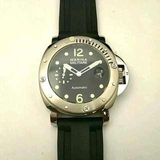 New 44mm Luminor Marina Militare Automatic Diving Watch,Panerai Style