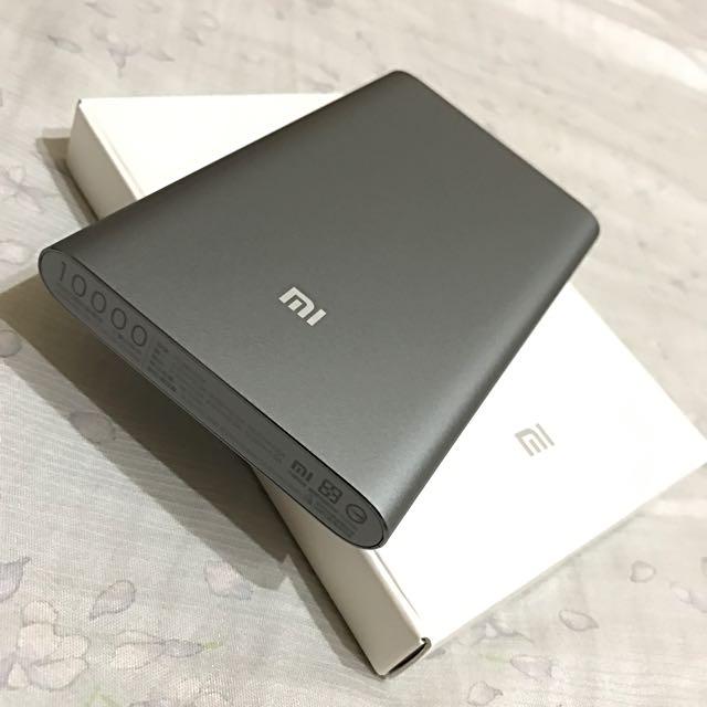 台灣官方保固小米10000安培行動電源高配版(陽極鐵灰)