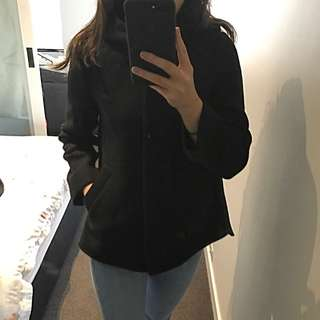 ZARA Dark Blue Basic Jacket