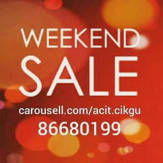 Weekend Flash Sale