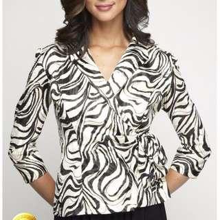 Alex Evenings Wrap Blouse/Jacket - Size S - 54% Off!!