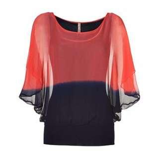 BAILEY 44 Fade Silk Top - Size S - 44% Off!!