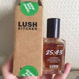 Lush Kitchen 25:43 Perfume