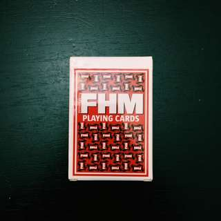 FHM SG Limited Ed Playing cards