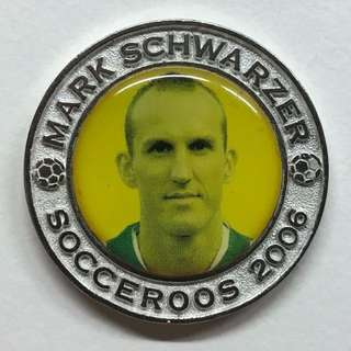 SOCCEROOS 2006 MEDALLION COIN - Mark Schwarzer (FOOTBALL FEDERATION AUSTRALIA)