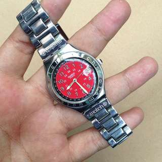 Jam Tangan Swatch Irony Big Original 100%