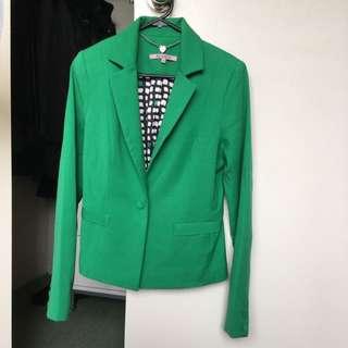 Green Formal Jacket