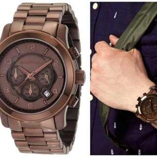 Oversized Mens MK Watch