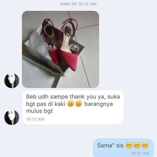 Testi Lagi 😊😊😊 Thank You Dear..