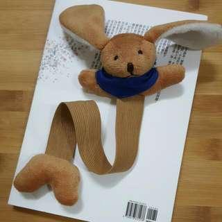 💍賣場贈品:兔子娃娃彈性書籤