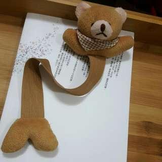 💍賣場贈品:可愛熊熊彈性書籤