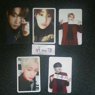 [TRADE] GOT7 Arrival PCs - Mark, Youngjae, Bam Bam, Yugyeom