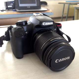 CANON EOS 1000D & ZOOM LENS EF 75-300mm