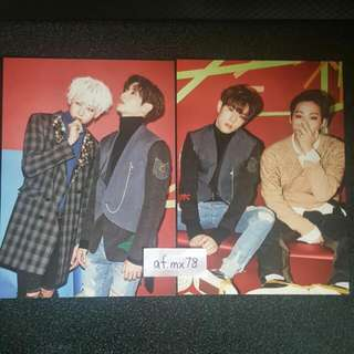 [TRADE] GOT7 Arrival Card - Bam Bam/Mark + Mark/JB
