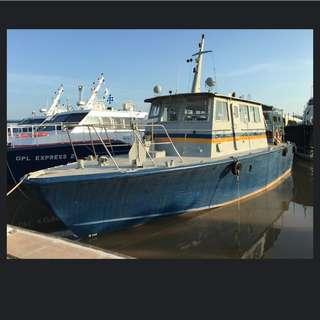 Pleasure Boat, Fishing Boat